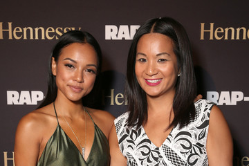 Karrueche Tran Rap-up Magazine's 15th Anniversary Dinner Presented by Hennessy