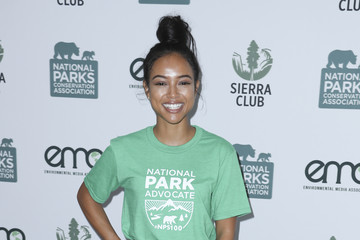 Karrueche Tran Sierra Club, National Parks Conservation Assoc, and EMA Host a 'Give Back Day' at Franklin Canyon Park