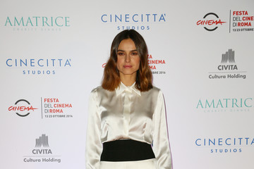 Kasia Smutniak Charity Dinner for Amatrice - 11th Rome Film Festival