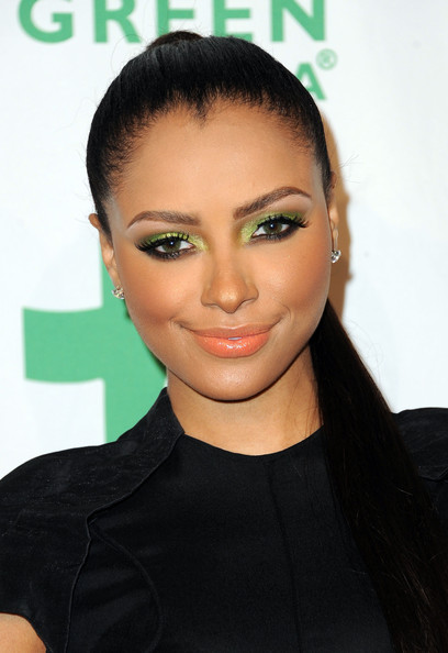 Kat Graham Actress/singer Kat Graham arrives at the Global Green USA's 9th Annual Pre-Oscar Party at Avalon on February 22, 2012 in Hollywood, California.