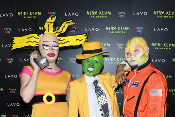 Kat Graham Heidi Klum's 19th Annual Halloween Party Presented By Party City And SVEDKA Vodka At LAVO New York - Inside