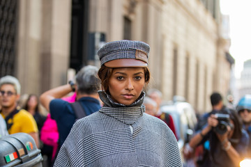 Kat Graham Ermanno Scervino – Street Style - Milan Fashion Week Spring Summer 2020