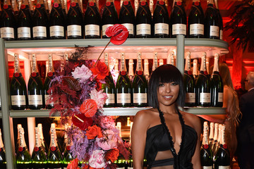 Kat Graham Moët & Chandon Toasts To The Icons At Harper's BAZAAR ICONS Party 2019 In New York City