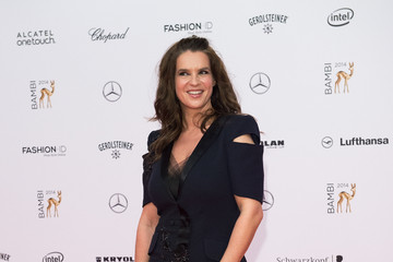 Katarina Witt Arrivals at the Bambi Awards