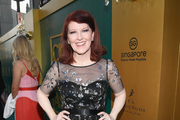 Kate Flannery Warner Bros. Pictures' 'Crazy Rich Asians' Premiere - Red Carpet
