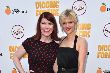 Kate Flannery Celebrities Attends the Premiere of 'Digging For Fire'