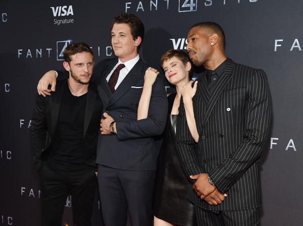 Guests Attend the 'Fantastic Four' New York Premiere