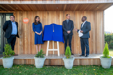 Kate Middleton The Duke And Duchess Of Cambridge Visit South Yorkshire