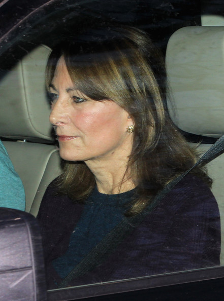 Carole+Middleton in Kate Middleton Celebrates 30th Birthday