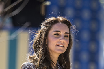 Kate Middleton The Duchess of Cambridge Will Open The Magic Garden at Hampton Court Palace