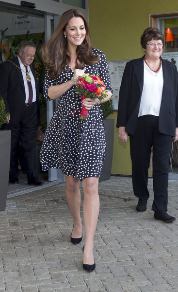 Kate Middleton Catherine, Duchess of Cambridge visits the Brookhill Children's Centre in Woolwich to find out about the work of Home Start on March 18, 2015 in London, England.