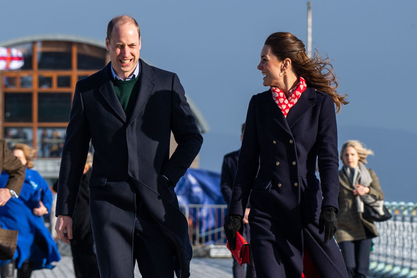 The Duke And Duchess Of Cambridge Visit South Wales [suit,fashion,fun,human,uniform,outerwear,tourism,event,jacket,team,duke,prince william,catherine,duchess,south wales,cambridge,duchess of cambridge,lifeboat station,rnli,visit,catherine duchess of cambridge,duke,duke of cambridge,gentleman,swansea,south wales,suit,birthday suit,yummy]