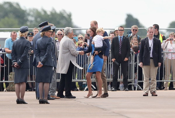 The Duke & Duchess of Cambridge Visit the Royal International Air Tattoo