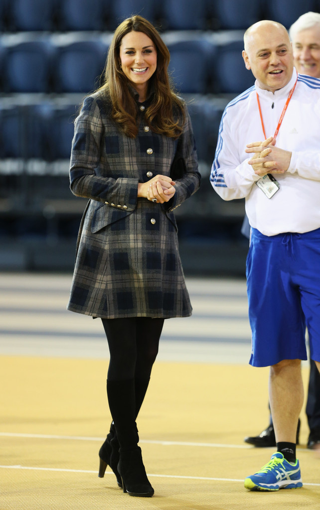 NEW Kate Middleton Outfit Alert: The Duchess Bought a Tartan Coat
