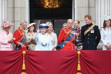 Kate Middleton Earl Of Wessex Queen Elizabeth II's Birthday Parade: Trooping The Colour