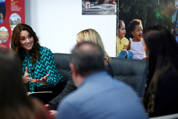 Kate Middleton The Duchess Of Cambridge Launches Landmark UK-Wide Survey On Early Childhood - Day One