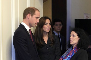 Kate Middleton The Duke and Duchess of Cambridge Sign Book of Condolences