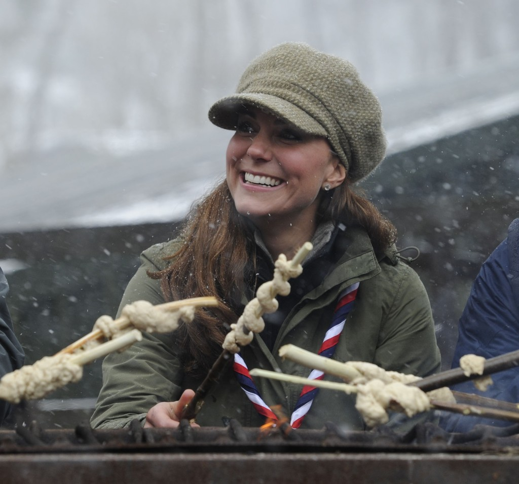 Kate Middleton Pulled a Madonna, Wore Boy Scout Clothes! [PHOTOS]