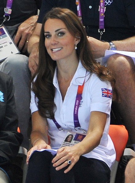Kate Middleton Photos Photos - Olympics Day 13 ...