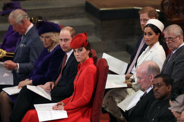 Kate Middleton Prince Charles Commonwealth Day 2019