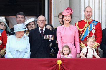 Kate Middleton Prince Philip Trooping the Colour 2017