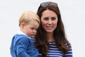 Kate Middleton The Duke of Cambridge and Prince Harry Play in Gigaset Charity Polo Match