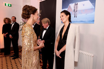 """Kate Middleton World Premiere Of """"NO TIME TO DIE"""" - Royal Albert Hall"""