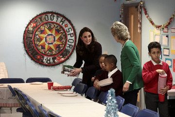 Kate Middleton The Duchess of Cambridge Attends 'Magic Mums' Christmas Party