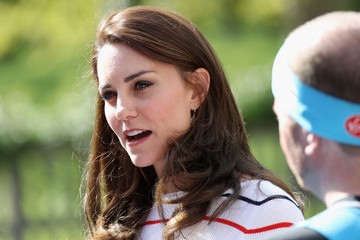 Kate Middleton The Duchess of Cambridge Hosts Team Heads Together Runners