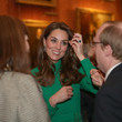 Kate Middleton HM The Queen Hosts NATO Leaders At Buckingham Palace Banquet