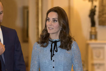 Kate Middleton The Duke & Duchess Of Cambridge and Prince Harry Support World Mental Health Day