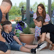 Kate Middleton Duchess of Cambridge Delivers Plants To EACH Hospice