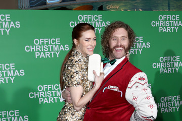 Kate Miller Office Christmas Party LA Premiere