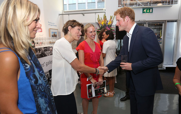 Prince Harry Gives a Speech in London
