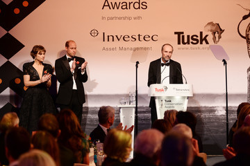 Kate Silverton The Duke And Duchess Of Cambridge Attend The Tusk Conservation Awards