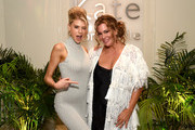 Charlotte McKinney (L) and Kate Somerville attend The Kate Somerville Clinic Celebrates 15 Years On Melrose at Kate Somerville on October 10, 2019 in Los Angeles, California.