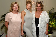 (L-R) Susan McKinney, Charlotte McKinney and Kate Somerville attend The Kate Somerville Clinic Celebrates 15 Years On Melrose at Kate Somerville on October 10, 2019 in Los Angeles, California.