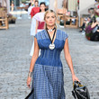 Kate Upton Tory Burch Spring/Summer 2022 Collection & Mercer Street Block Party