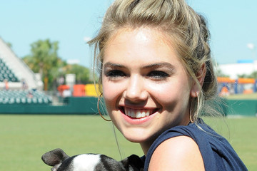 Kate Upton Kate Upton and Justin Verlander Host a Grand Slam Adoption Event With Wins for Warriors Foundation