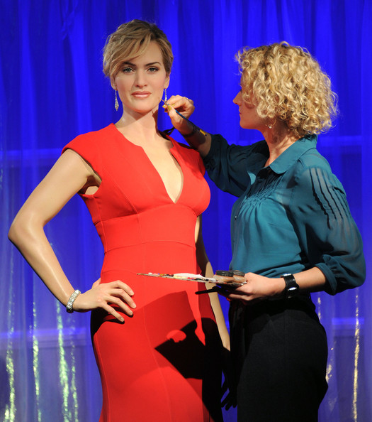 Kate Winslet Kate Winslet Wax Figure Unveiling