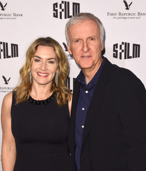 SFFILM's 60th Anniversary Awards Night - Arrivals [premiere,event,blond,smile,style,james cameron,kate winslet,palace of fine arts theatre,california,san francisco,sffilm,60th anniversary awards night - arrivals,60th anniversary awards night]