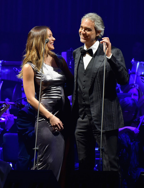 Andrea Bocelli Performs In Concert   New York, New York