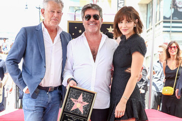Katharine McPhee Simon Cowell Honored With Star On The Hollywood Walk Of Fame