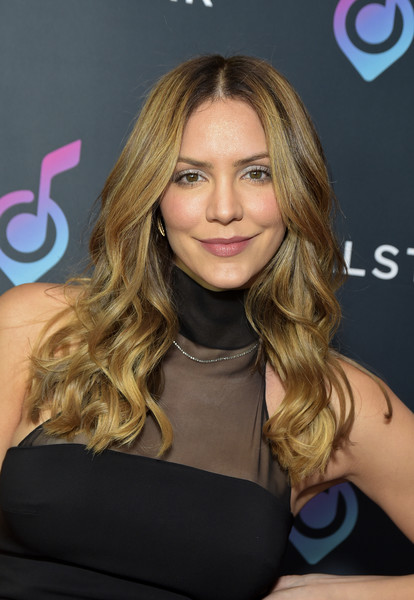 Vocal Star - Arrivals [vocal star - arrivals,katharine mcphee,vocal star,hair,face,blond,hairstyle,brown hair,long hair,eyebrow,chin,hair coloring,layered hair,music seminar,loews hollywood hotel,hollywood,california]