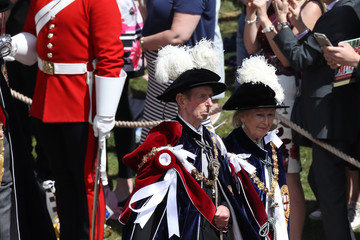 Katharine Order Of The Garter Service