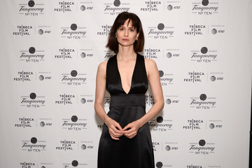 Katherine Waterston 2018 Tribeca Film Festival After-Party For State Like Sleep, Hosted By Tanqueray At The Chester