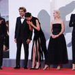"""Katherine Waterston """"The World To Come"""" Red Carpet - The 77th Venice Film Festival"""