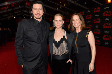 Kathleen Kennedy Premiere of Disney Pictures and Lucasfilm's 'Star Wars: The Last Jedi' - Red Carpet