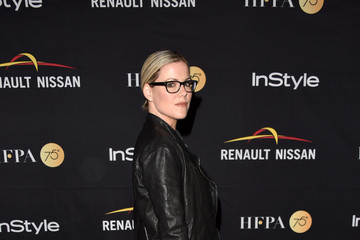 Kathleen Robertson HFPA & InStyle Annual Celebration of 2017 Toronto International Film Festival - Arrivals
