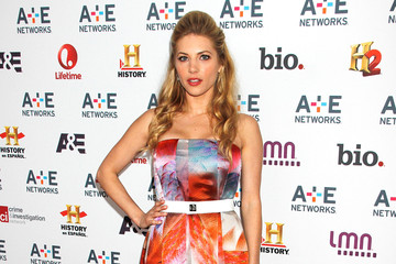 Kathryn Winnick Arrivals at the A&E Networks Upfront